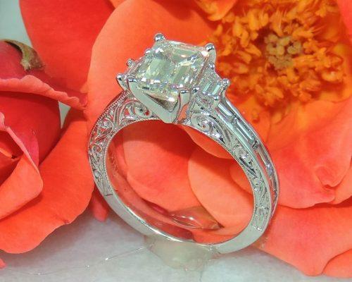 Marissa's Anniversary Upgrade Ring Design