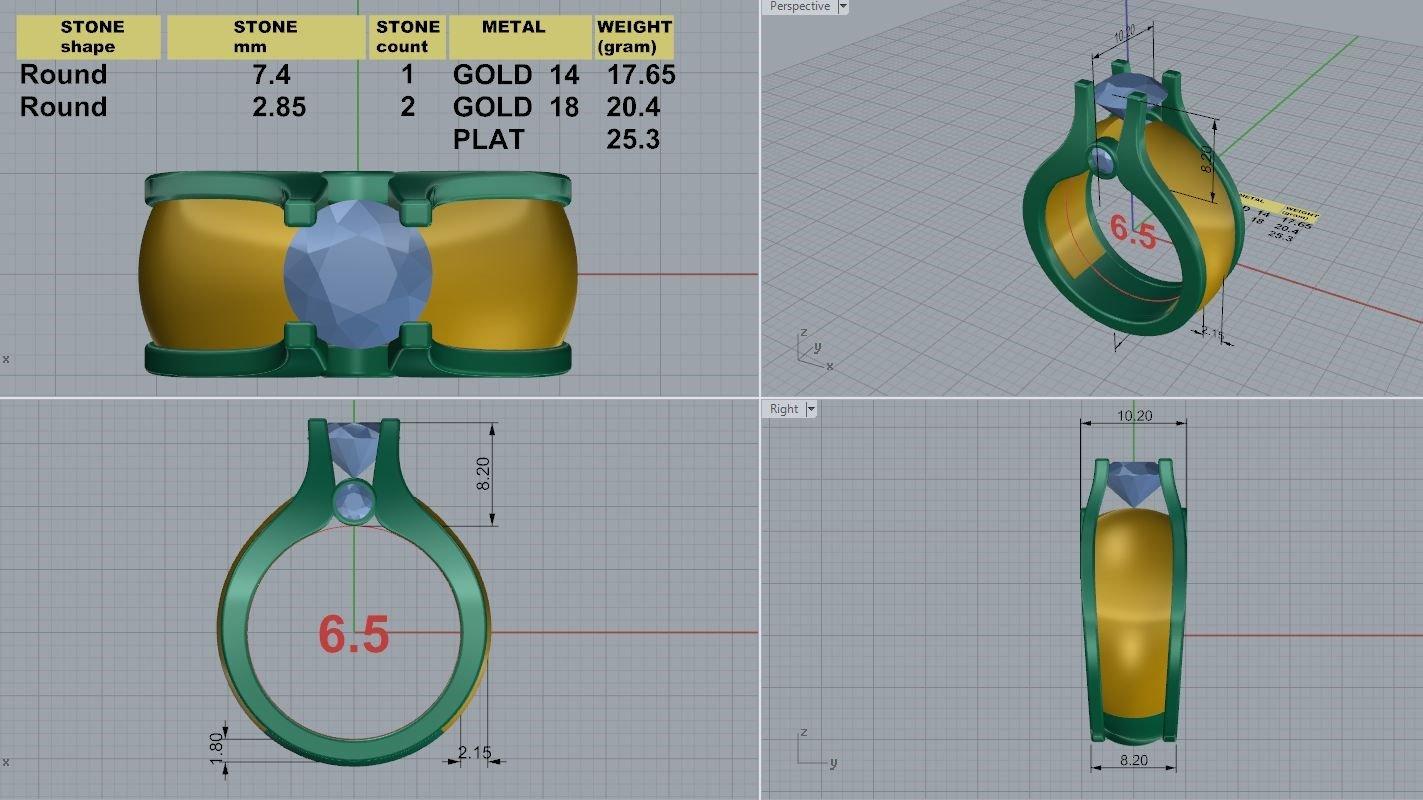 MFJ_PaveWeddingRing_CAD_Design_Render